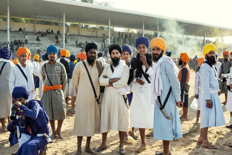 Sikhs at Mela Grounds, Anadpur Sahib